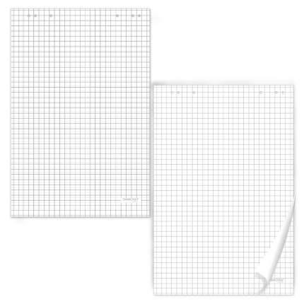 Блокноты для флипчарта Офисмаг 20 листов, клетка, 67,5х98 см, 5 шт.