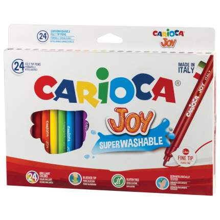 Фломастеры Carioca Joy, 24 цвета