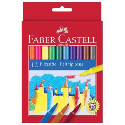 Фломастеры Faber-Castell 12 цветов