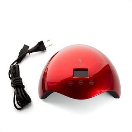 Лампа POLE, UV/LED, 24W, красная