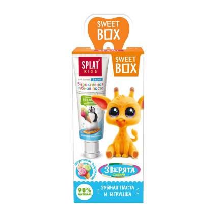 Набор дорожный SweetBox игрушка с пастой KIDS вишня+земляника 20мл