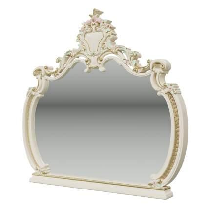 Зеркало Мэри-Мебель Шейх СШ-06 слоновая кость, 136х11х127 см