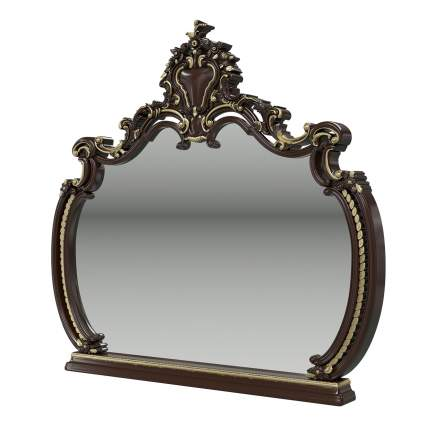 Зеркало Мэри-Мебель Шейх ГШ-07 орех тайский, 136х11х127 см