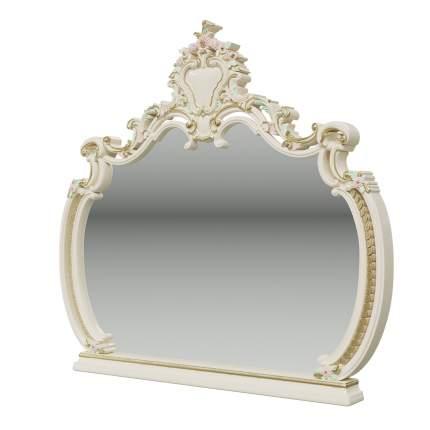 Зеркало Мэри-Мебель Шейх ГШ-07 слоновая кость, 136х11х127 см