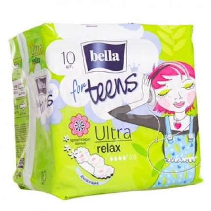 Прокладки Bella for teens Ultra Relax 10шт