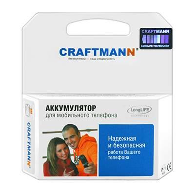 Аккумуляторная батарея для Fly DS123, DS130 (BL4007) Craftmann 1750 mAh