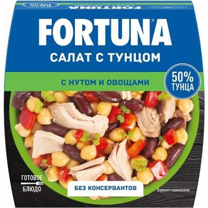 Салат Фортуна с тунцом-нутом-овощами 160 г
