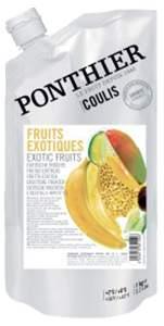 Пюре Ponthier охлажденное Экзотические фрукты 1 кг