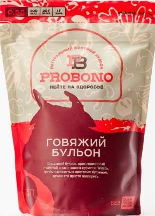 Бульон Probono говяжий, костный, замороженный, 500 г