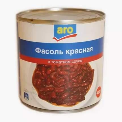 Фасоль Aro красная в томатном соусе 425 г