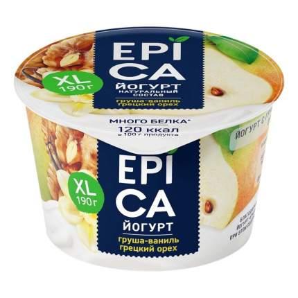 Йогурт Epica груша-ваниль-грецкий орех 5,3% 190 г