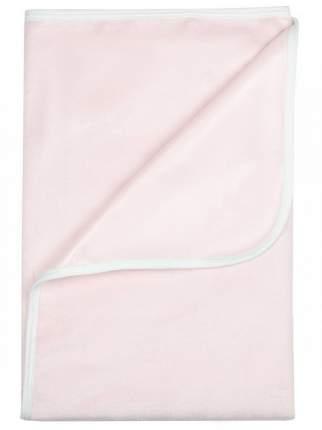 Пелёнка Bamboola непромокаемая, тёплая, для кроватки, из велюра, 60х90 см, Розовый