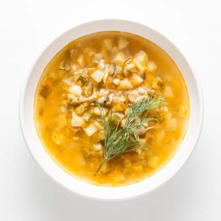 Суп Еда Prosto   рассольник, с курицей, 350 г