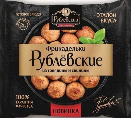 Фрикадельки Рублевский из свинины и говядины, замороженные, 500 г