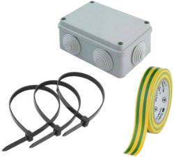 Аксессуары для электромонтажа