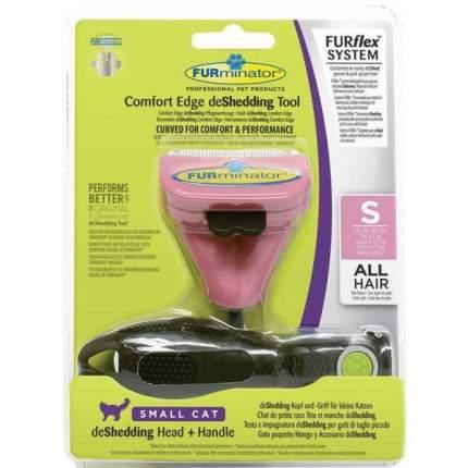 Комбо FURminator® FURflex против линьки S, для маленьких кошек
