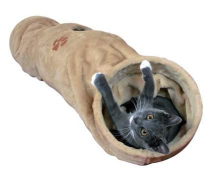 Тоннель для кошек Trixie Playing Tunnel, размер 125x25см, бежевый