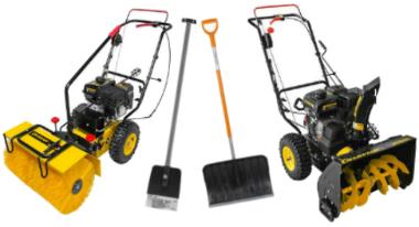 Садовая уборочная техника