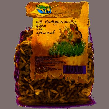 Корм для кроликов Naturalist Naturalist 0.45 кг 1 шт