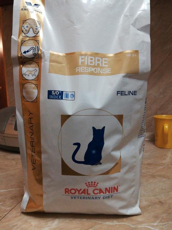 Корма для кошек royal canin fiber